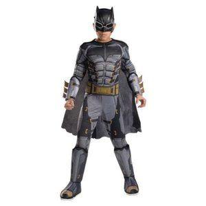 Boys Justice League Muscle Batman Costume- S, M, L